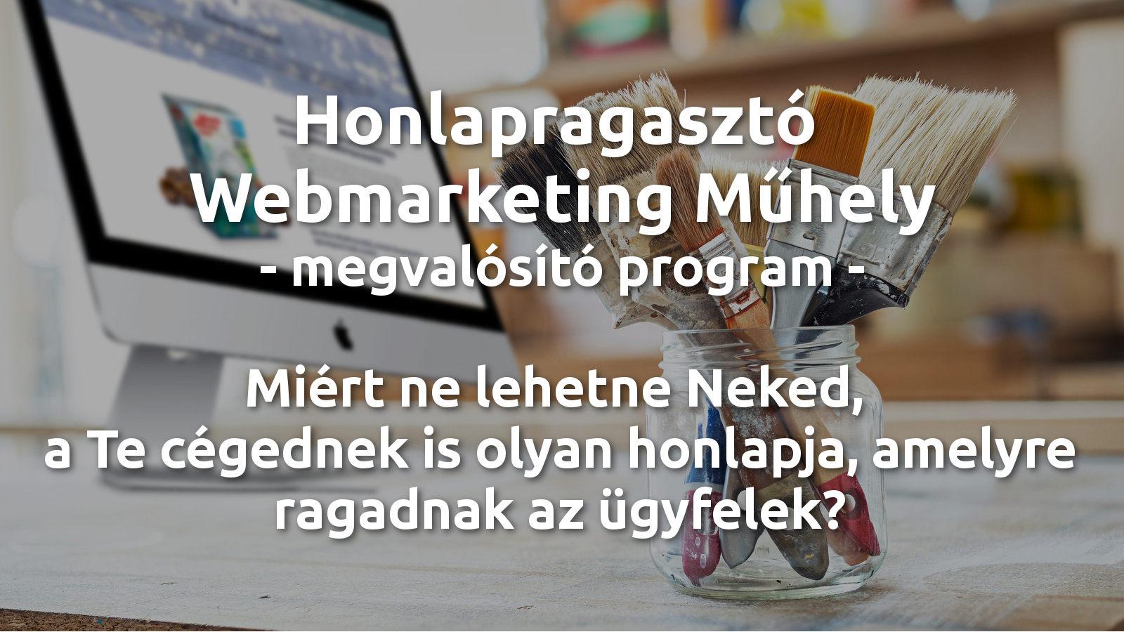 webmarketing műhely