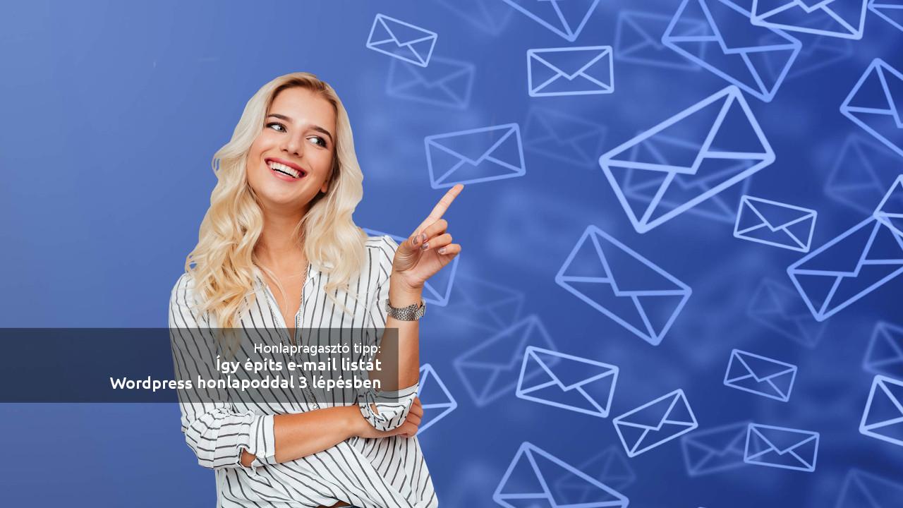 email lista, wordpress